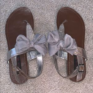 MSARGRY MATERIAL GIRL bow sandals